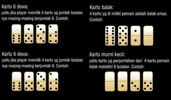 pengertian kartu enam dewa
